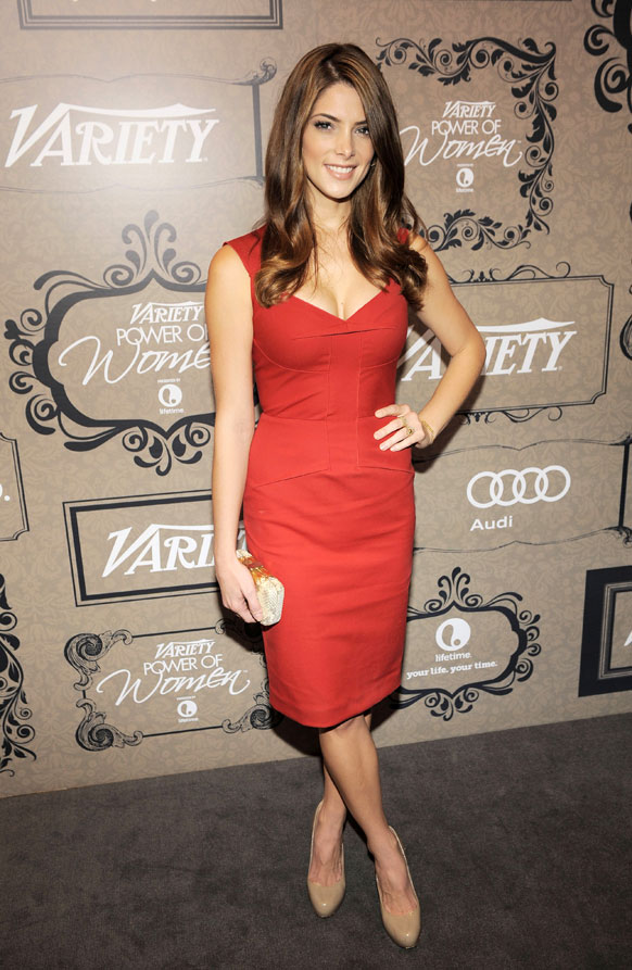 कैलिफोर्निया में चौथा वार्षिक पावर ऑफ वोमन इवेंट के दौरान अभिनेत्री अश्ले ग्रीन।