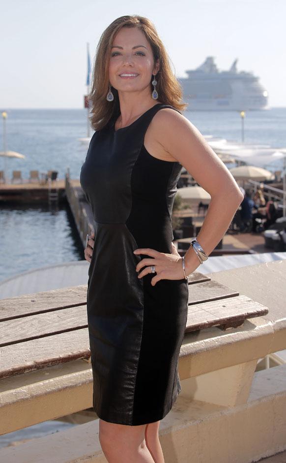 कॉंस में एक समारोह के दौरान कानाडाई अभिनेत्री एरिका डुरांस।