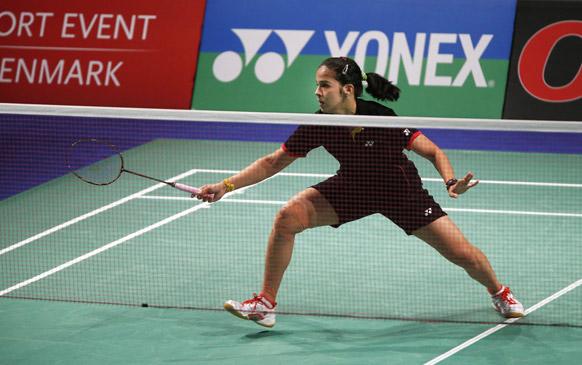 भारत की स्टार खिलाड़ी सायना नेहवाल ने अपने शानदार फॉर्म को जारी रखते हुए डेनमार्क ओपन सुपर सीरीज बैडमिंटन टूर्नामेंट का महिला एकल खिताब जीता।