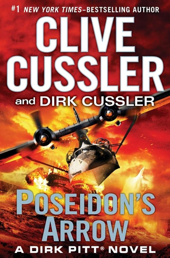 'पोसेडियोन ऐरो' नामक उपन्यास के कवर पेज का फोटो जीपी पुटनम संस की ओर से जारी किया गया।