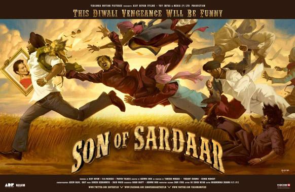 फिल्म सन ऑफ सरदार इस दीवाली पर रिलीज होगी, इसमें अजय देवगन और सोनाक्षी सिन्हा मुख्य भूमिका में हैं।