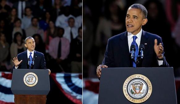अमेरिकी राष्ट्रपति बराक ओबामा ने बुधवार को व्हाइट हाउस की दौड़ में अपने रिपब्लिकन प्रतिद्वंद्वी मिट रोमनी को पराजित करके अपना दूसरा कार्यकाल पक्का कर लिया है।