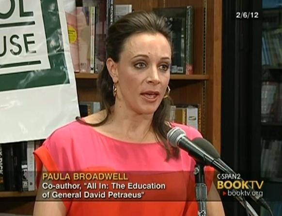 लेखक पॉउला ब्रॉडवेल