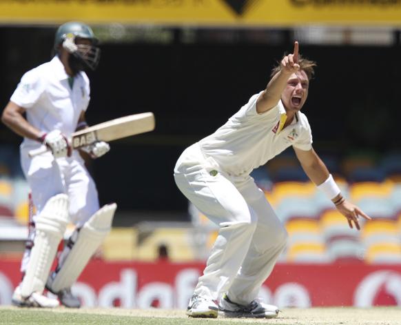 ऑस्ट्रेलिया और दक्षिण अफ्रीका के बीच टेस्ट सीरीज के पहले मैच का पांचवें दिन का खेल।