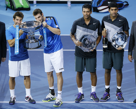 एटीपी वर्ल्ड टूर टेनिस टूर्नामेंट में पुरूष डबल्स के विजेता और उपविजेता।