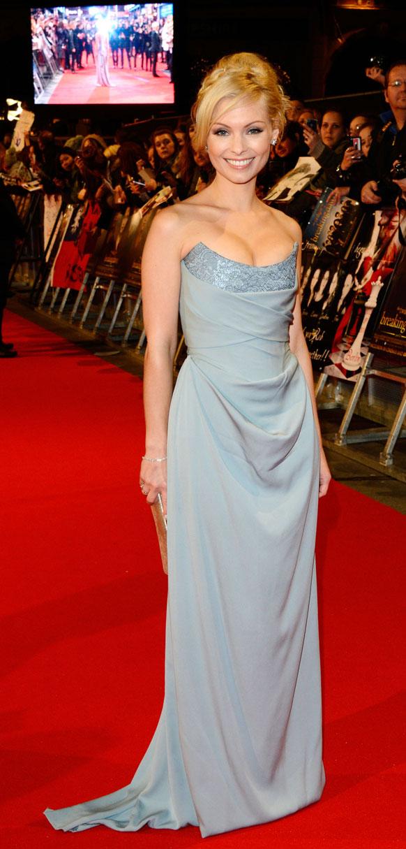 लंदन में एक फिल्म के प्रीमियर के दौरान मयाना।