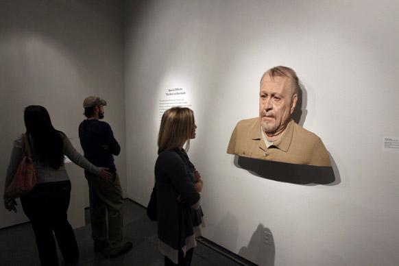 न्यू ओलांस म्यूजियम में इवान पेनी की बनाई प्रतिमा।