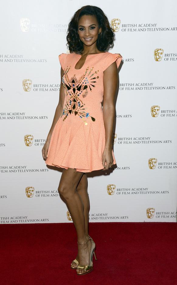 लंदन में ब्रिटिश अकादमी चिल्ड्रेन अवॉर्ड के दौरान एलेशा डिक्शन।