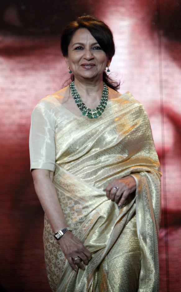 मराकेश इंटरनेशनल फिल्म फेस्टिवल में भारतीय अभिनेत्री शर्मिला टैगोर।