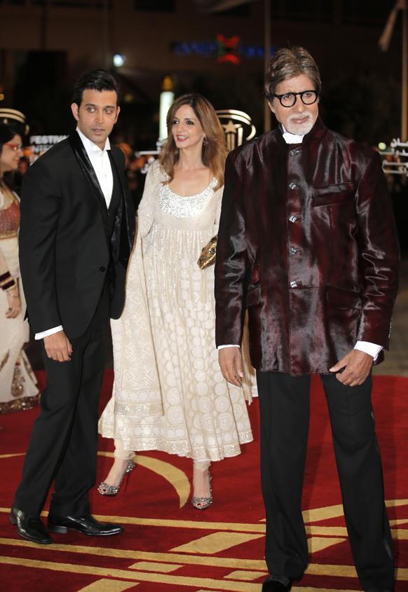 मराकेश इंटरनेशनल फिल्म फेस्टिवल में बॉलीवुड अभिनेता अमिताभ बच्चन और ऋतिक रोशन ने शिरकत की।