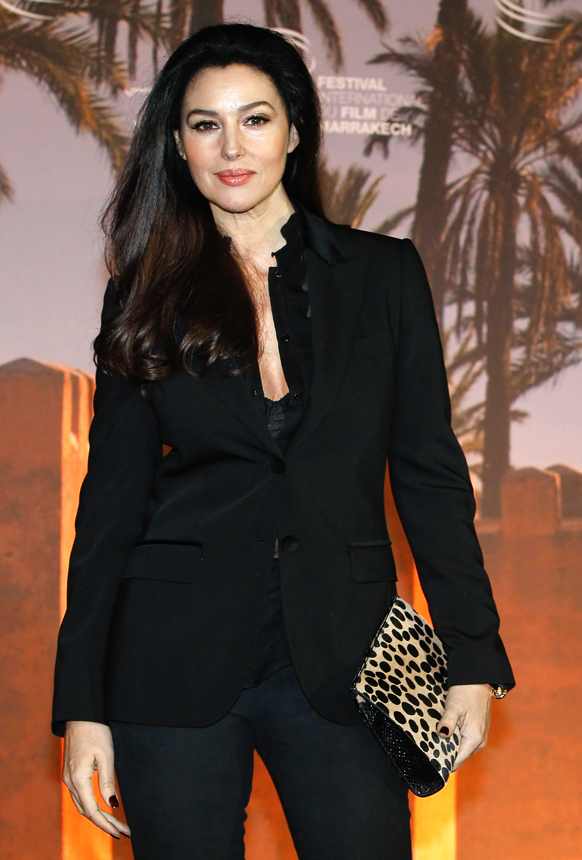 मराकेश इंटरनेशनल फिल्म फेस्टिवल में इटालियन अभिनेत्री मोनिका बेलुसी।