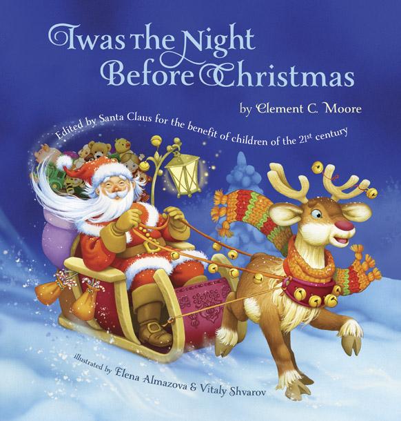 पुस्तक 'तवास द नाइट बिफोर क्रिसमस' का कवर इमेज रिलीज किया गया।