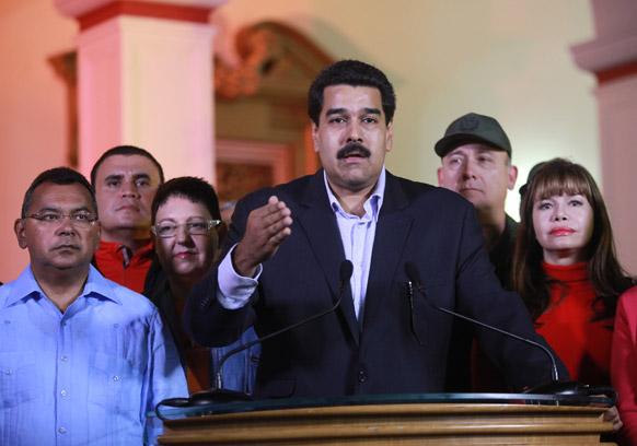 वेनेजुएला के उप राष्ट्रपति निकोलस मदुरो।
