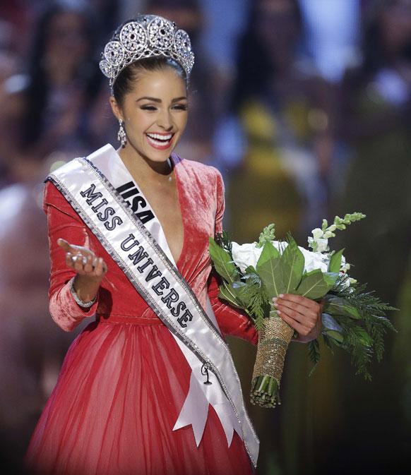 मिस यूएसए ओलिविया क्लूपो मिस यूनिवर्स 2012 चुनी गईं।