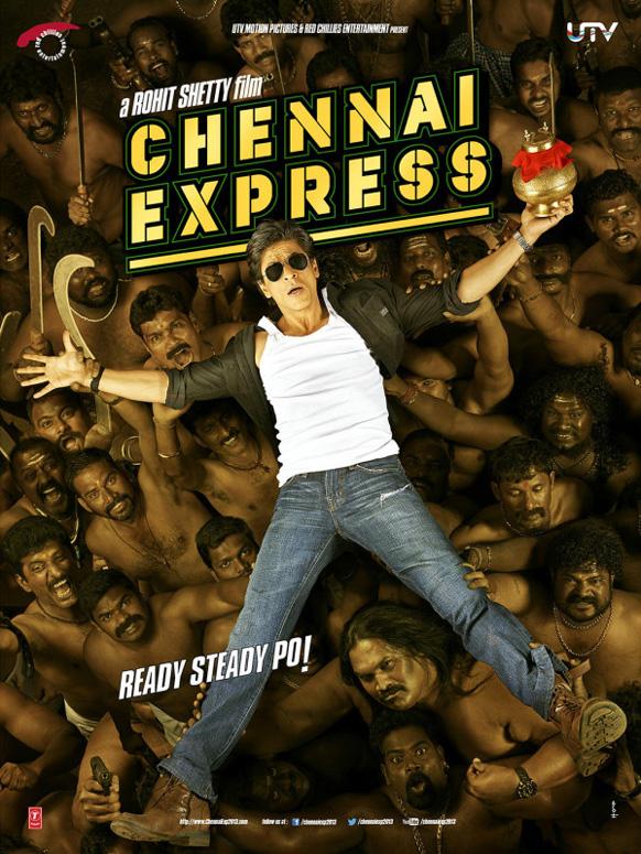 यूटीवी मोशन पिक्चर्स ने फिल्म चेन्नई एक्सप्रेस की पोस्टर को जारी किया और लिखा 'चेन्नई एक्सप्रेस की यह पहली फोटो ' ।