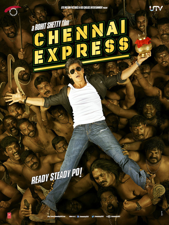 यूटीपी मोशन पिक्चर ने फिल्म चेन्नई एक्सप्रेस की पहली तस्वीर जारी की।