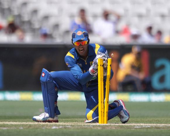 मेलबर्न क्रिकेट ग्राउंड में ऑस्ट्रेलिया और श्रीलंका के बीच वनडे मुकाबले का एक दृश्य।