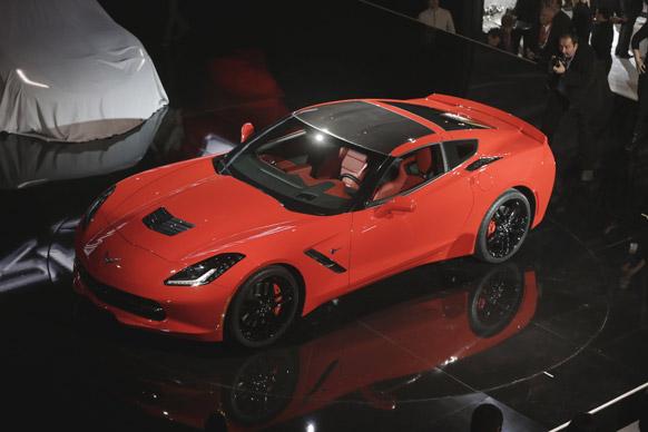 डेट्रायट के ऑटो कार शो में जेनरल मोटर्स ने अपनी नई गाड़ी लॉन्च की।