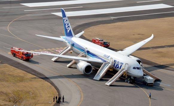 अली निपोन एयरवेज के एक फ्लाइट को जापान में इमरजेंसी लैंडिग करना पड़ा।