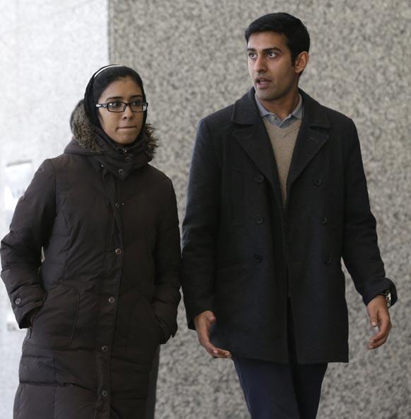 आतंकी तहव्वुर राणा के बेटे और बेटी।