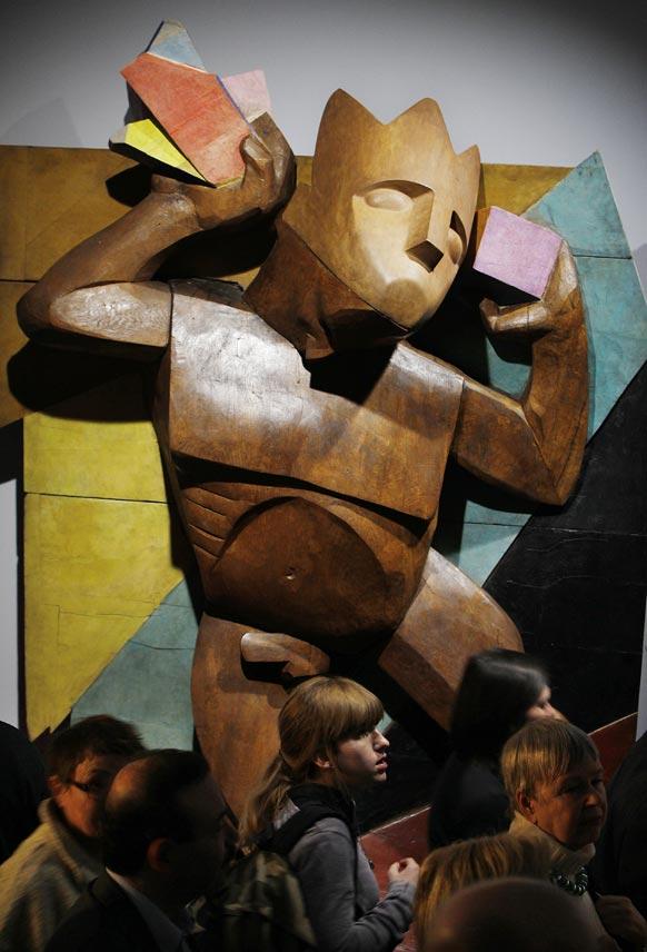 पोलैंड के नेशनल म्यूजियम में रखी कलाकृति।