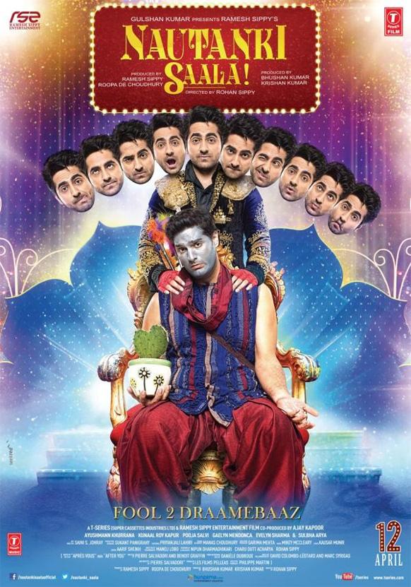 रोहन सिप्पी की आगामी कामेडी फिल्म 'नौटंकी साला' की पहली झलक। इसमें आयुष्मान खुराना और कुणाल राय कपूर मुख्य भूमिका में हैं।