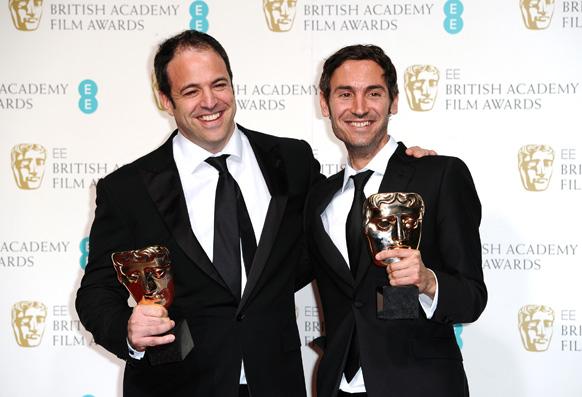 लंदन के रॉयल ओपेरा हाउस में बाफ्टा फिल्म अवॉर्ड समारोह।