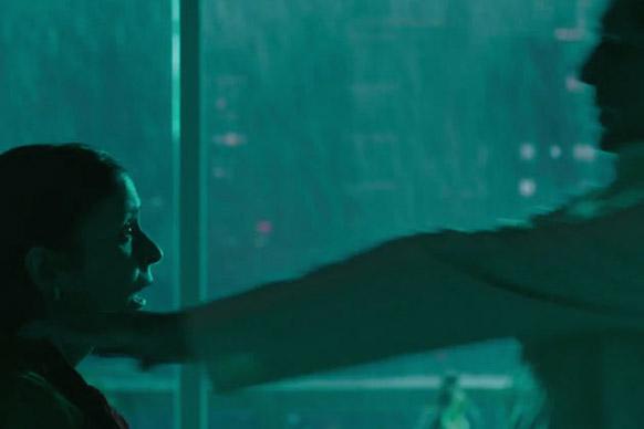 फिल्म `आत्मा` का एक डरावनी सीन।