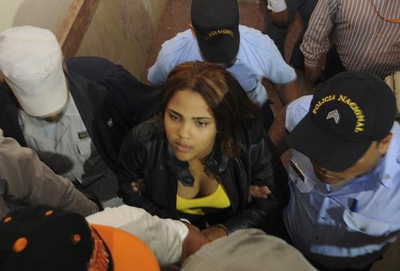 ड्रग तस्करी के आरोप में गिरफ्तार 'लैटिन अमेरिकन आइडल' शो की विजेता मार्था हेरेदिया।