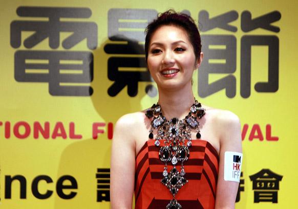 37वां हॉन्ग कॉन्ग इंटरनेशनल फिल्म फेस्टिवल की एंबेसडर मरियम येयुंग।