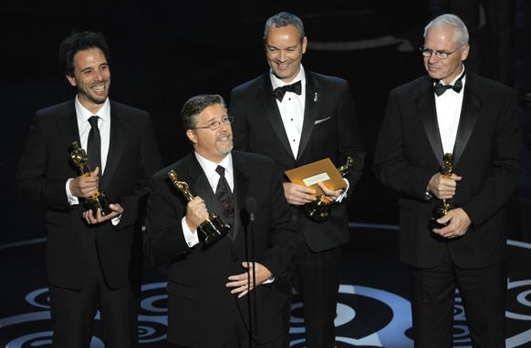 फिल्म लाईफ ऑफ पाई को चार कैटेगरी में पुरस्कार मिला।