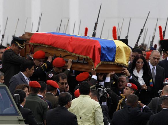कारकस में वेनेजुएला के राष्ट्रपति ह्यूगो शावेज के पार्थिव शरीर को सैन्य संग्रहालय में रखा जाएगा।