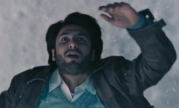 फिल्म 'लुटेरा' के एक सीन में रणवीर सिंह।