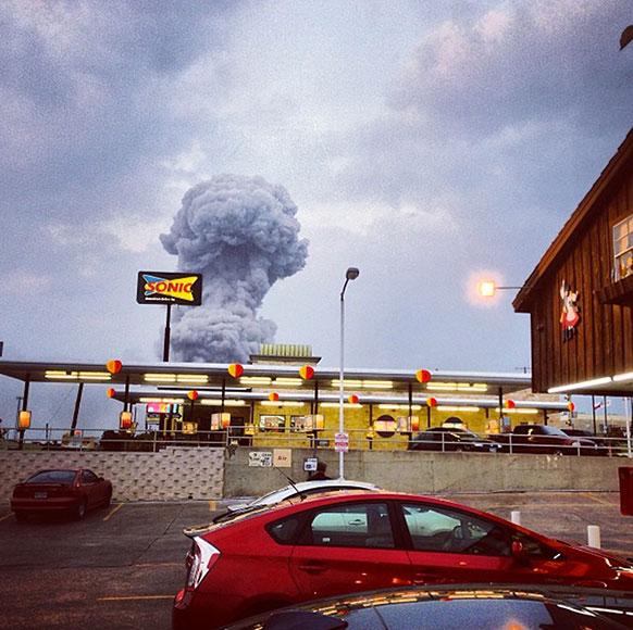 अमेरिका के टेक्सस में फर्टिलाइजर प्लांट में बुधवार देर शाम जबरदस्त धमाका हुआ। इस धमाके में करीब 60 लोगों के मारे जाने की खबर है।