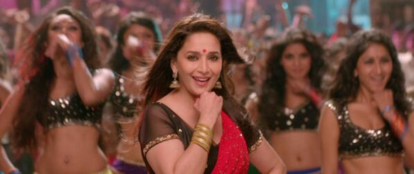 फिल्म ये जवानी है दीवानी के एक दृश्य में अभिनेत्री माधुरी दीक्षित।