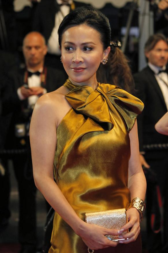 दक्षिणी फ्रांस में कांस फिल्म फेस्टिवल में फिल्म ए टच ऑफ सीन के स्क्रीनिंग में पहुंची अभिनेत्री कैरीना लौ।
