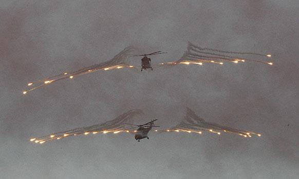 दक्षिण कोरिया आर्मी ने पहला मिलिट्री हेलीकॉप्टर सुइरोन को लॉन्च किया।