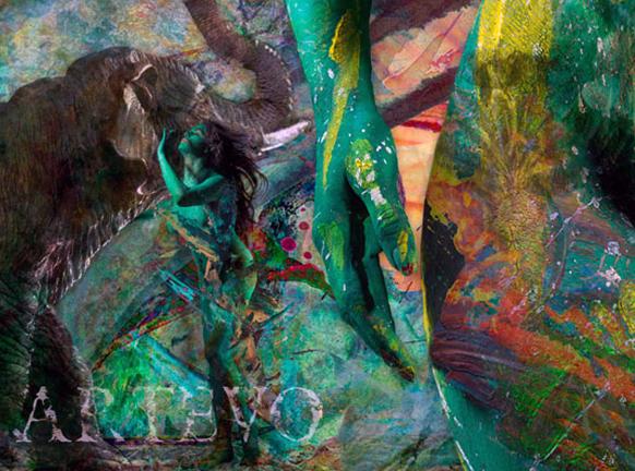 वीणा की बॉडी को पेंट करने के बाद उसकी तस्वीरें कई कोणों से खिंची गई।