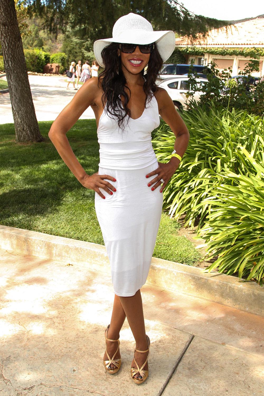 लॉस एंजिलिस में एक समारोह में अभिनेत्री वेंडी रैक्वेल।