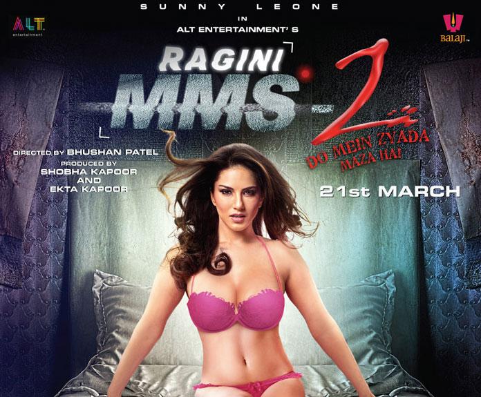 रागिनी एमएमएस पार्ट -2 के लुक में सनी लियोन।