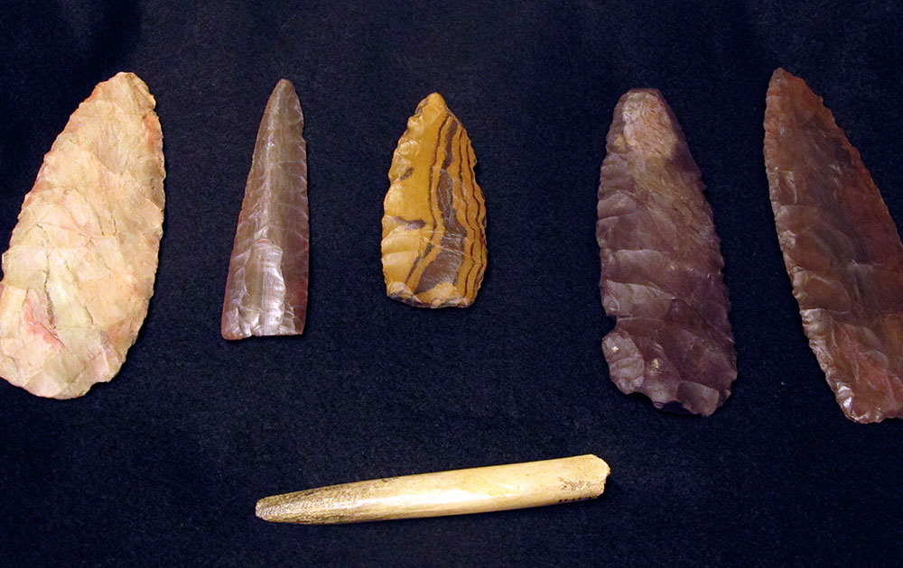 हेलेना में मिले 12,600 साल पहले के अवशेष।