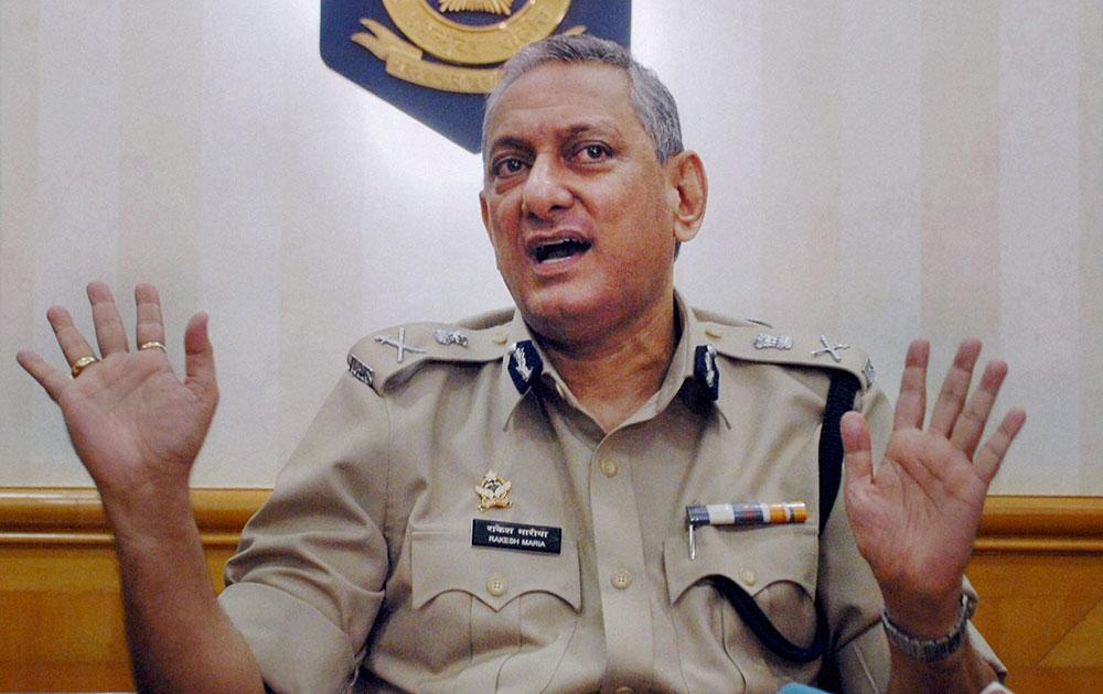 मुंबई के नए पुलिस कमिश्नर राकेश मारिया।