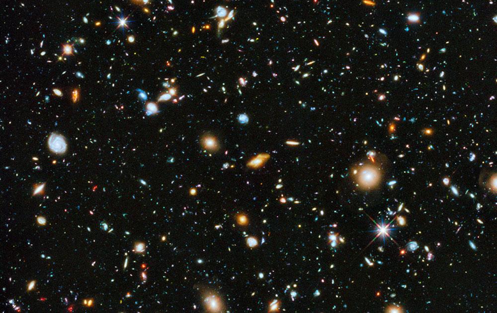 नासा के हब्बल दूरबीन से ली गई तस्वीर।