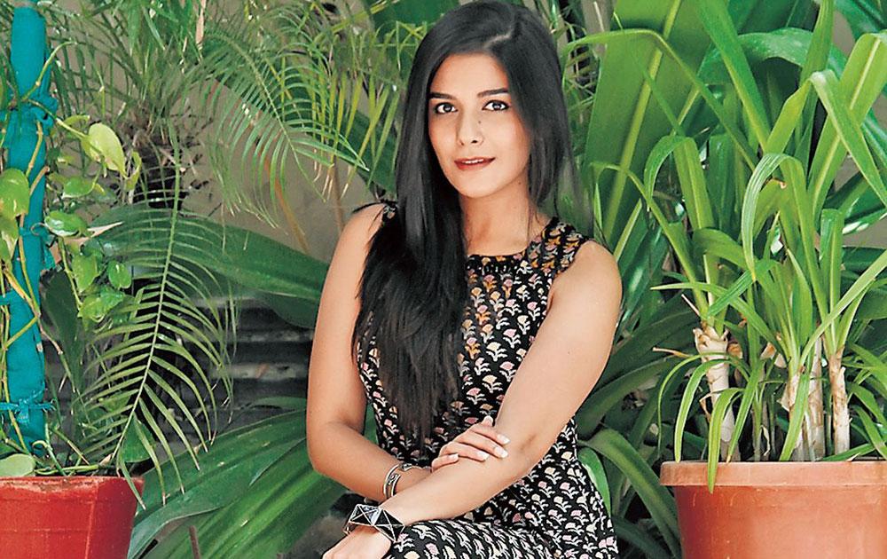 अहमदाबाद में टीवी अभिनेत्री पूजा गोर।