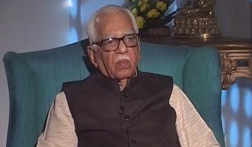 सरकार बदलते ही राज्यपालों को देना चाहिए इस्तीफा : राम नाइक