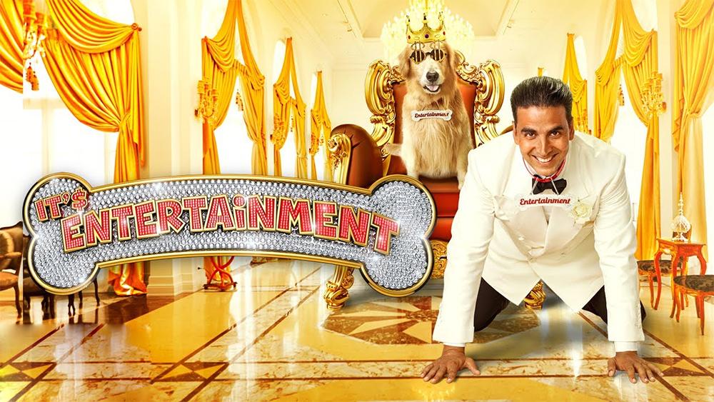 फिल्म एंटरटेनमेंट के एक सीन में अक्षय कुमार।