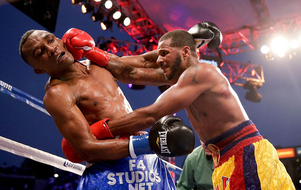 कैलिफोर्निया के कार्सन में  WBC सुपर मिड्डलवेट टाइटिल बॉक्सिंग।