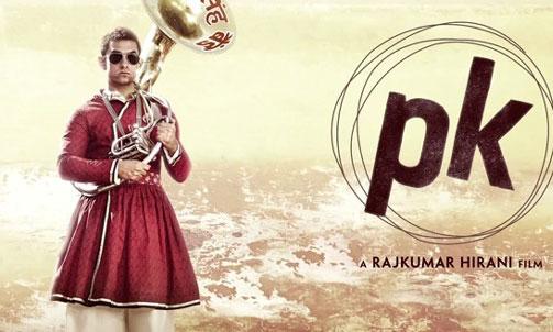 'PK' के दूसरे पोस्टर में आमिर ने बदला रूप, ट्रांजिस्टर...गायब