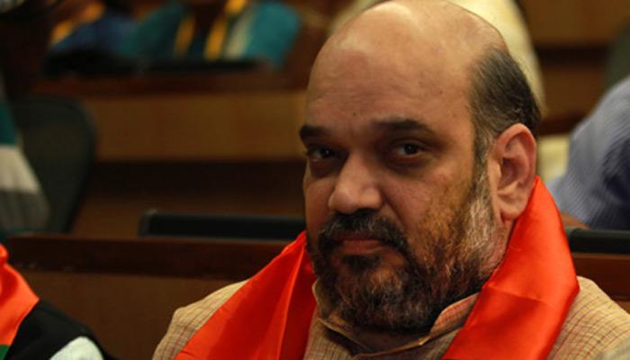 अमित शाह पहुंचे मुंबई, 'मातोश्री' में शिवसेना प्रमुख उद्धव से भी करेंगे मुलाकात
