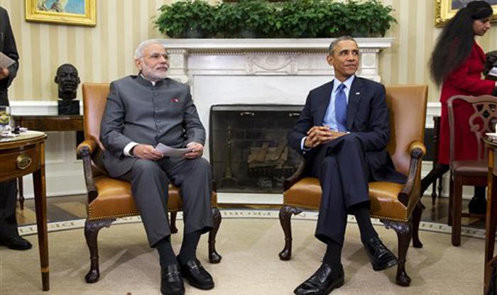 मोदी-ओबामा मुलाकात: आतंकवाद से निपटने, परमाणु मुद्दा समेत संबंधों को `नई दिशा` देने पर भारत और अमेरिका सहमत